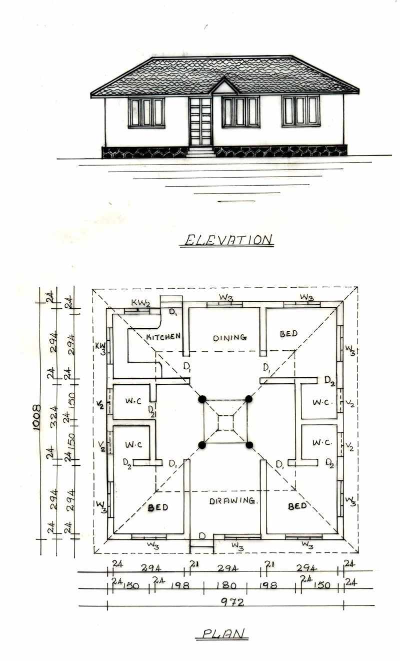 Modern nalukettu houses in kerala House and home design