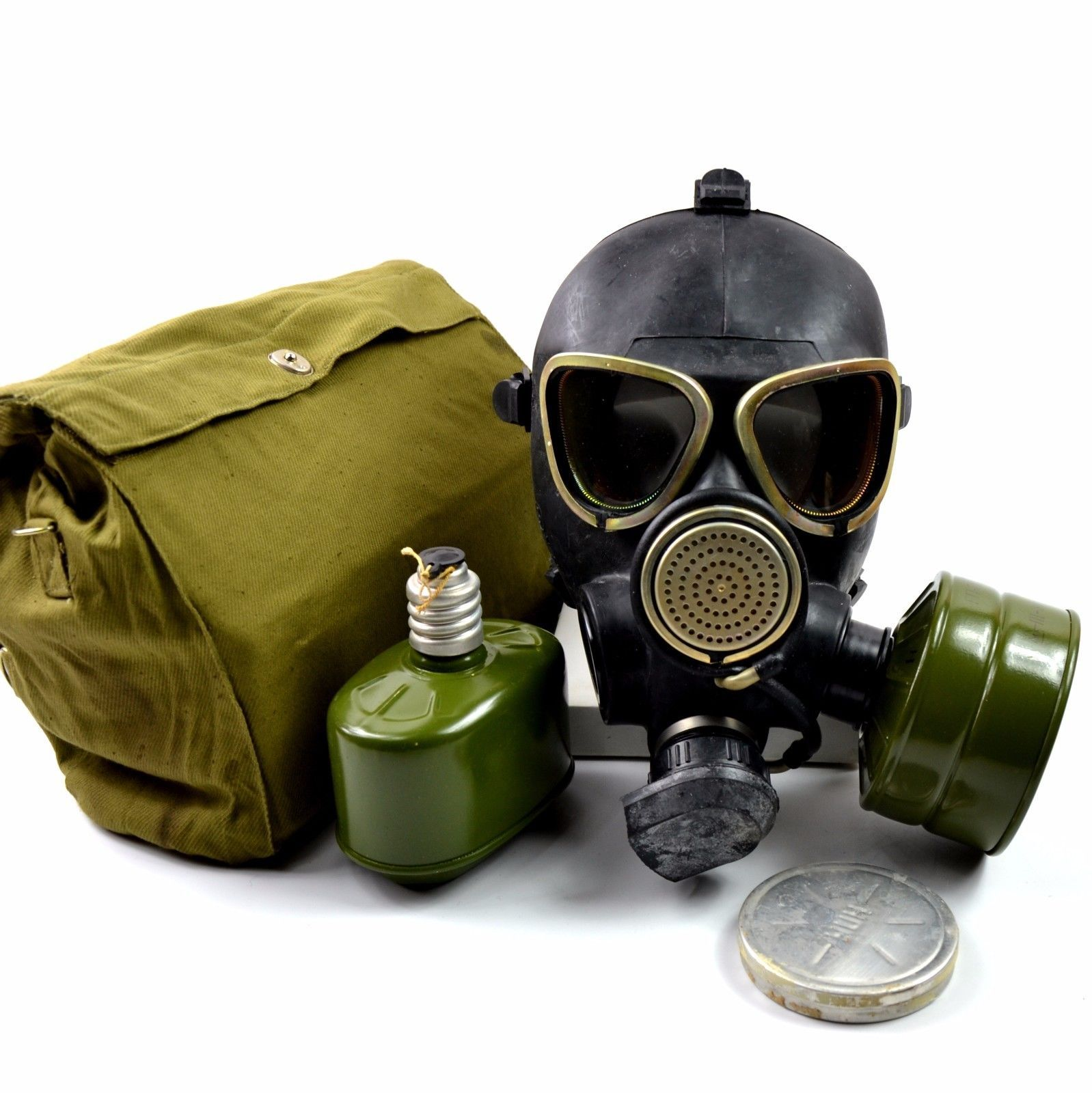 Details about Soviet russian military gas mask GP-7VM PMK black ...