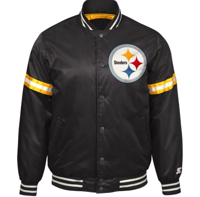 promo code e3160 86fcf Pittsburgh Steelers Starter Jacket Shop Donna Sacs for the ...