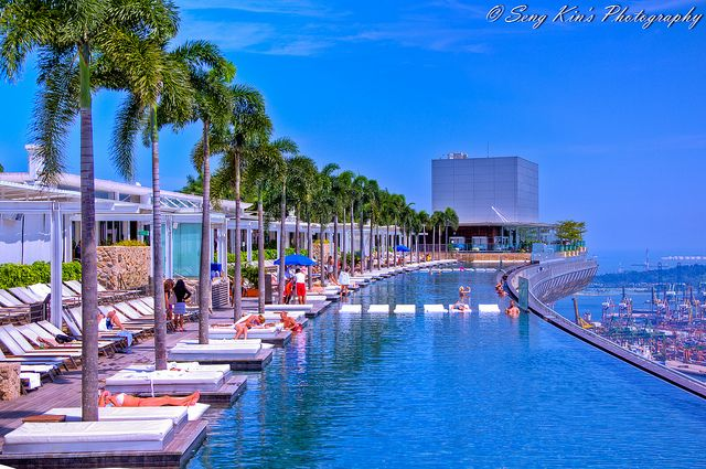 Marina Bay Sands Infinity Pool 2 Hdr Holiday In Singapore