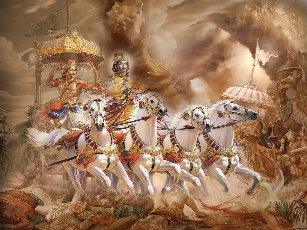 Free Download Mahabharat Wallpapers Lord Krishna Wallpapers Bhagavad Gita Lord Krishna Images