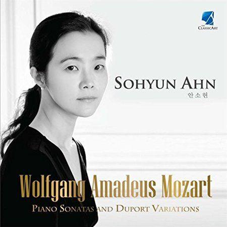 Wolfgang Amadeus Mozart Piano Sonatas And Duport Variations