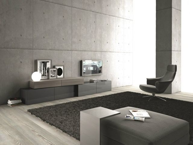 Extrêmement Salon design - 50 idées sur le mobilier tendance en 2015!   Meuble  ZQ48