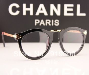 Drop Shipping 2014 Fashion Brand Designer Eyeglasses Women Vintage Arrow Gold Metal Arm Glasses Frames 5pcs/lot  # MM23
