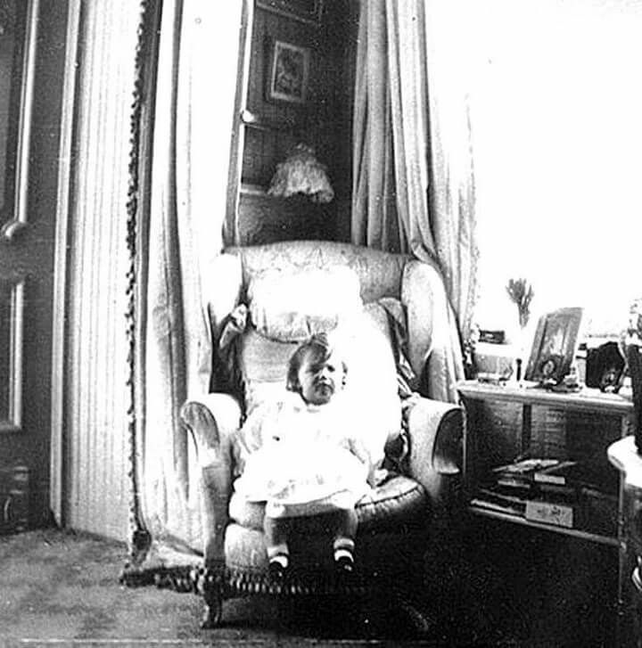 "Tsarevich Alexei Nikolaevich Romanov of Russia in the Mauve Boudoir at the Alexander Palace,Tsarskoe Selo. ""AL"""