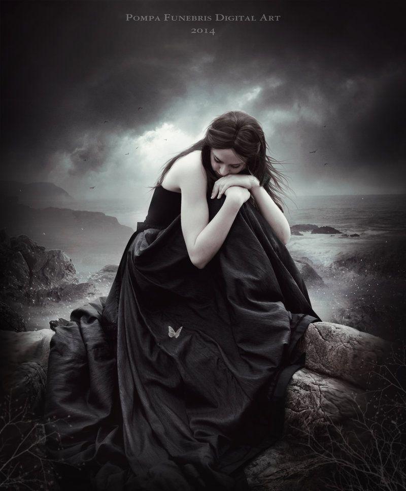 I Miss You By Pompafunebris Fantasy Photography Gothic Fantasy Art Beautiful Dark Art
