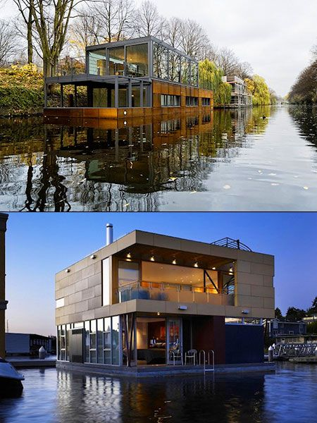 12 Cool and Creative Houseboats That Think Outside the Box ...