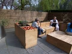 garden design layered decking - Google-søk