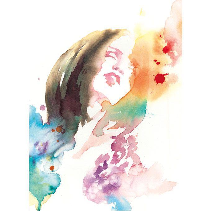 PORTRAIT/ watercolor,illustration,fashion,girl,水彩,イラストレーション