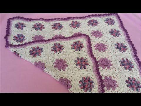 Daisy Granny Square Blanket - Part 1 (Crochet Tutorial) - 8 Petal ...