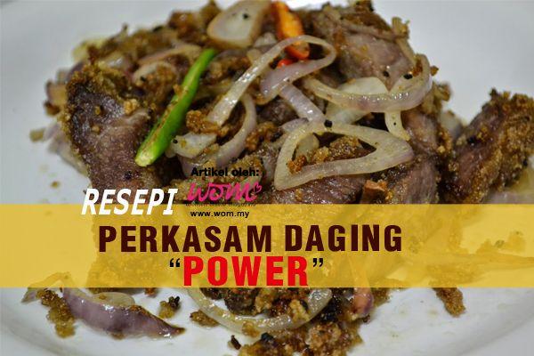 Resepi Daging Pekasam Power Food Beef Meat