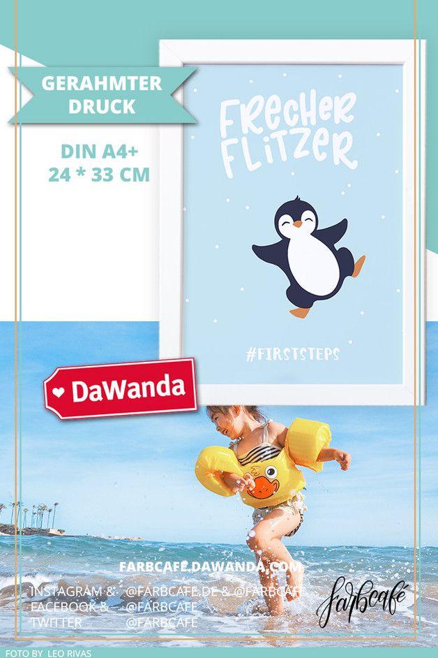 Kinderzimmerposter mit Rahmen \