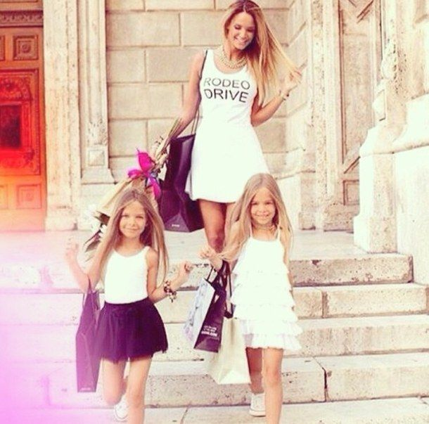 Children Daughter Family Fashion Future Goals Gorgeous Hair Inspo Kids Long Luxury Mom Mother Shopp Little Girl Fashion Kids Outfits Girl Outfits