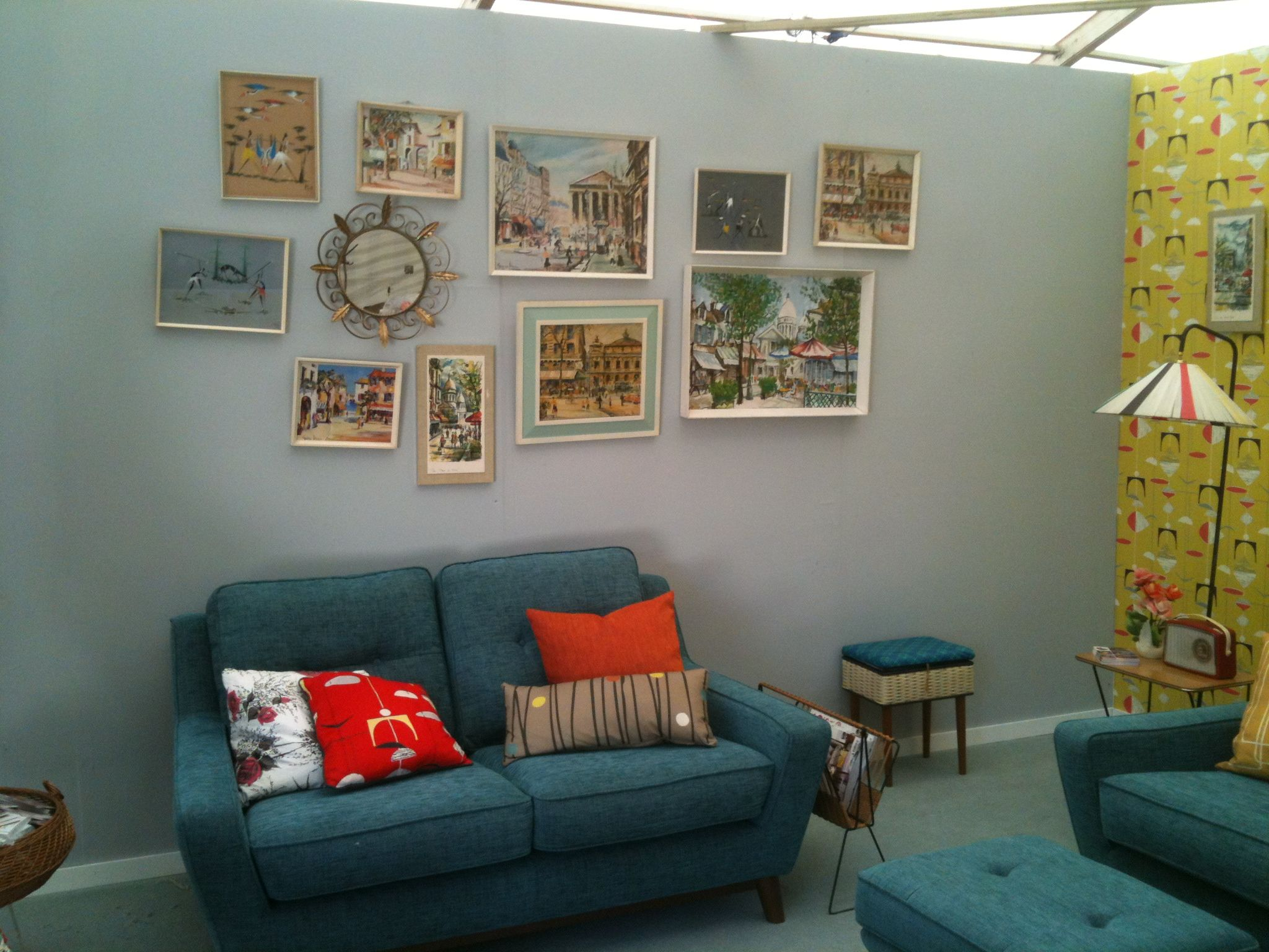 Our Lovely Colleagues At Homes U0026 Antiques Have A Living Room Set At This  Weekendu0027s Vintage Festival At Wilderness, Featuring Our Fab New G Plan  Vintage ...