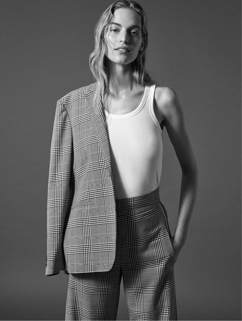 Vanessa Axente by Alexandra Nataf for The Edit Magazine January 2018 Suit Yourself