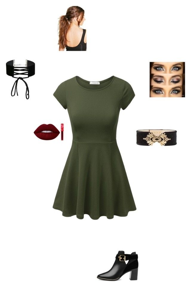 """""""Meeting Valentine"""" by maryvarleyrox ❤ liked on Polyvore featuring Balmain, Lime Crime, Ted Baker, Miss Selfridge and Boohoo"""