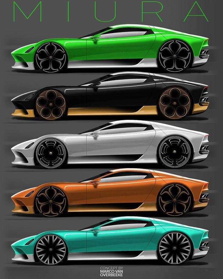 Lamborghini Miura Nuova concept