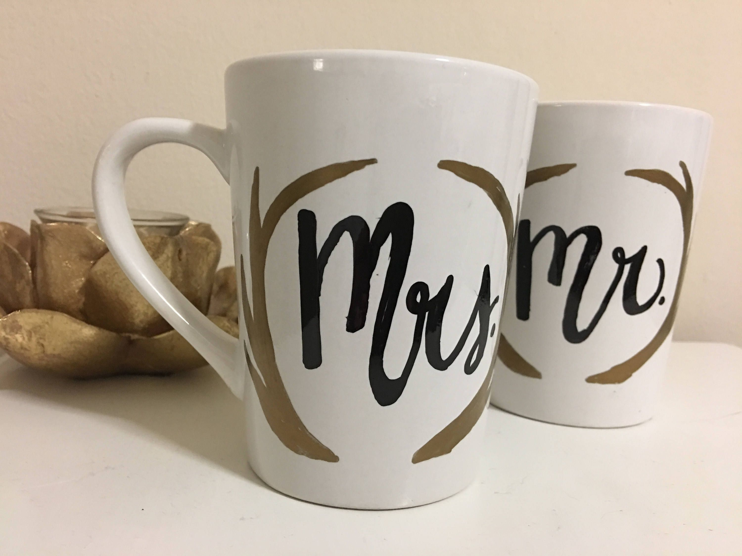 Couple mugs gifts for couple mr and mrs mugs deer