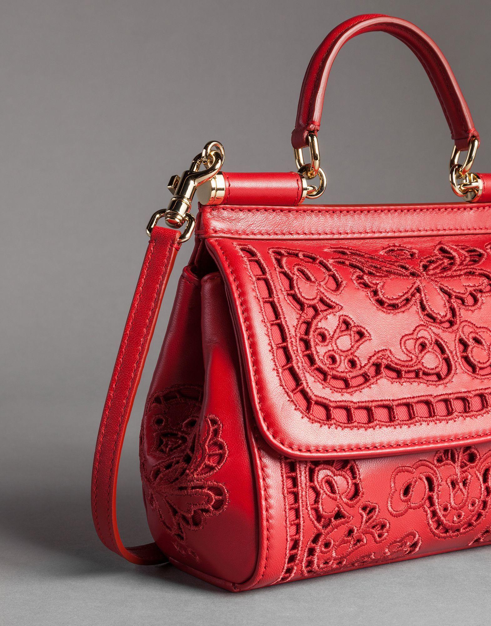 Sicily tote bag - Red Dolce & Gabbana tXRi99ZY4m