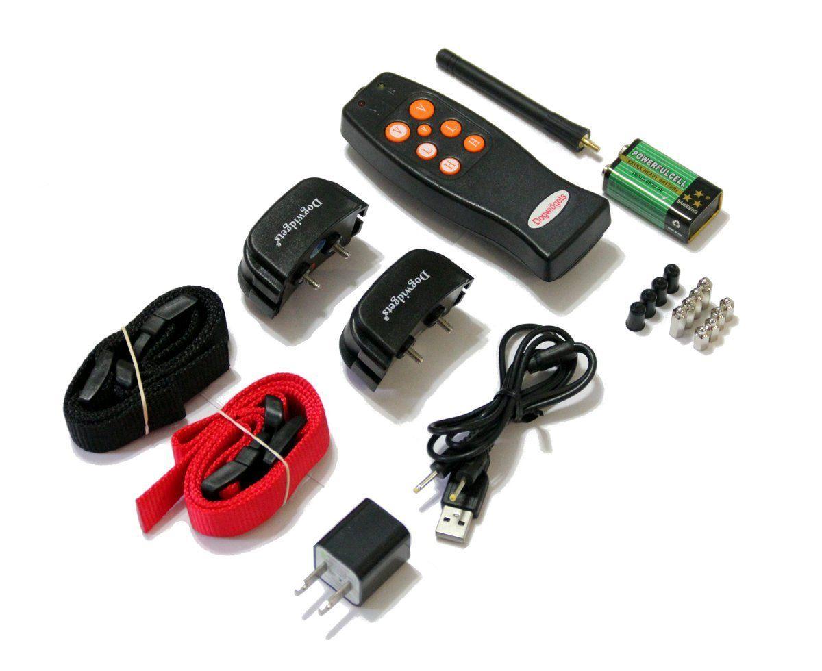 Dogwidgets dw16 rechargeable remote 2 dog training shock