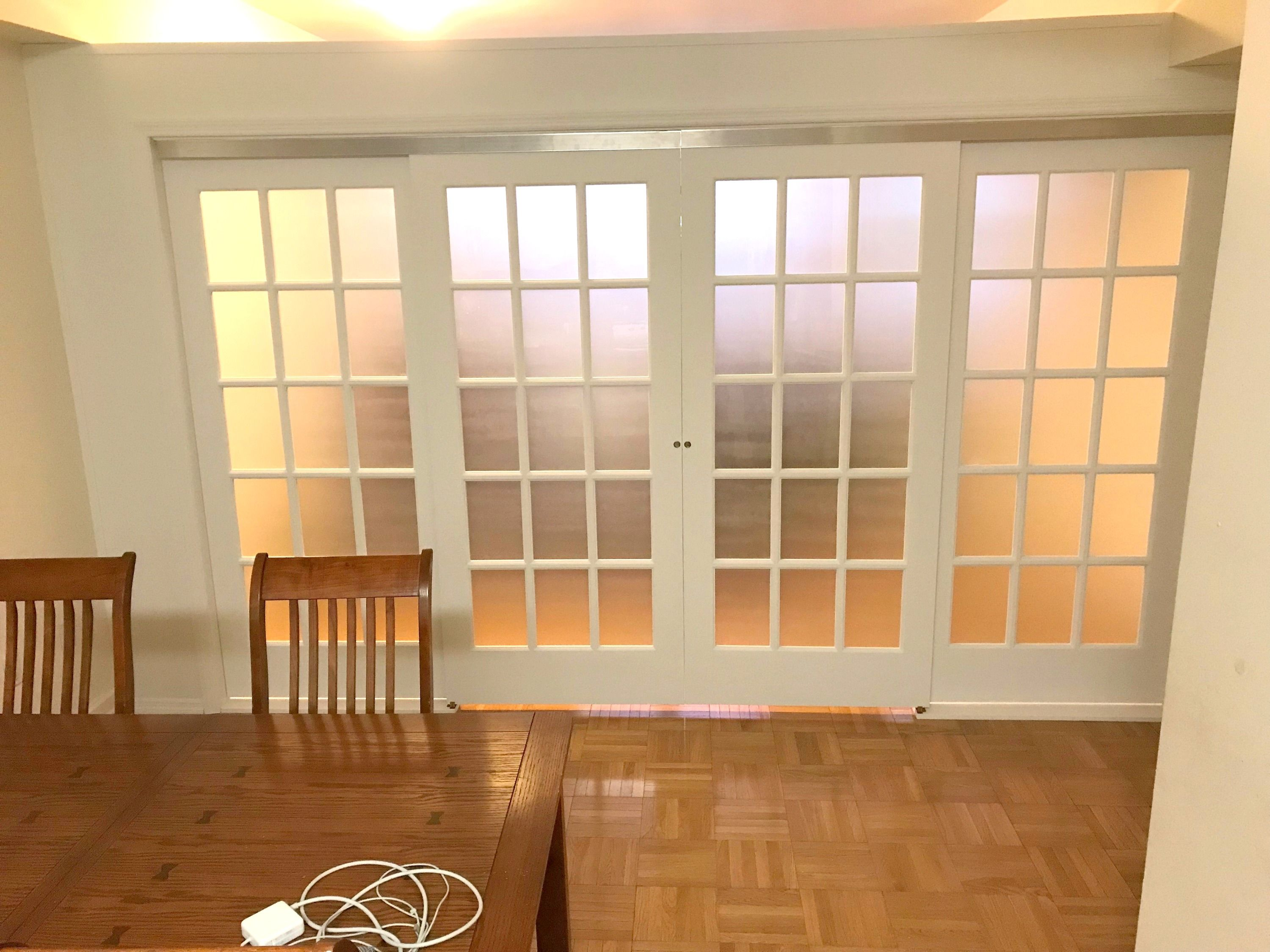 Sliding French Door Room Partition Call Us For All Your Custom Room Partition And Storage Wall Inquiries 6 Sliding French Doors Temporary Wall Bookcase Wall