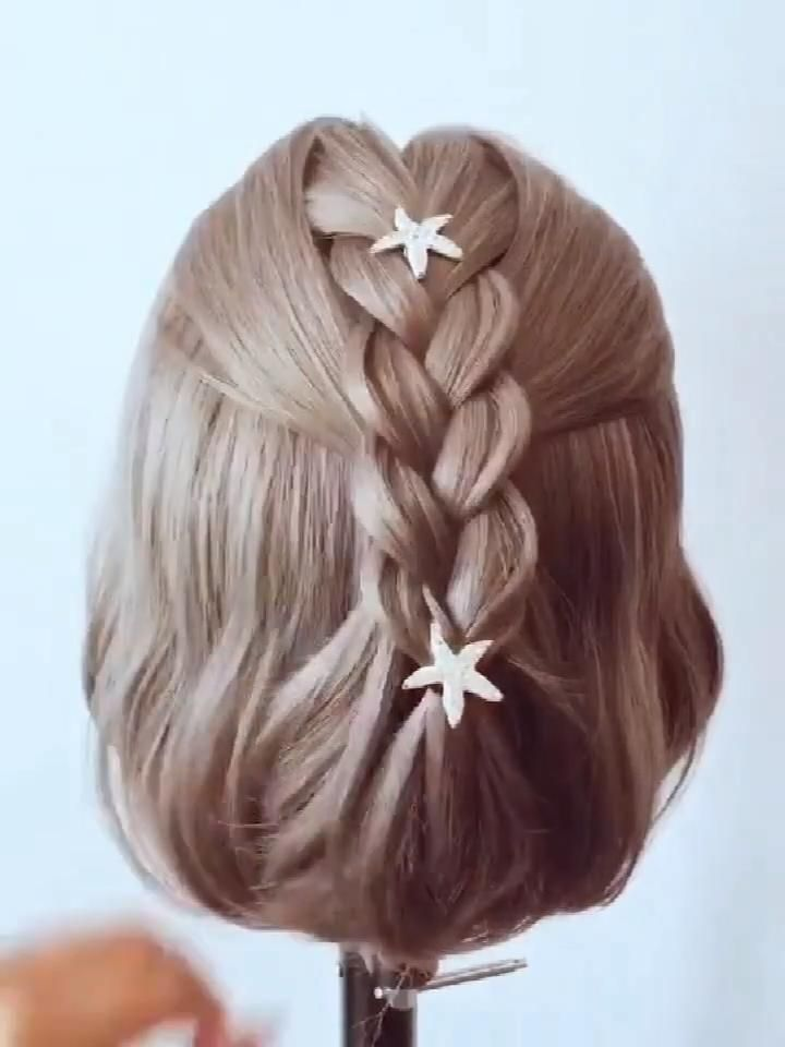Fashion Hairstyle Tutorial 755