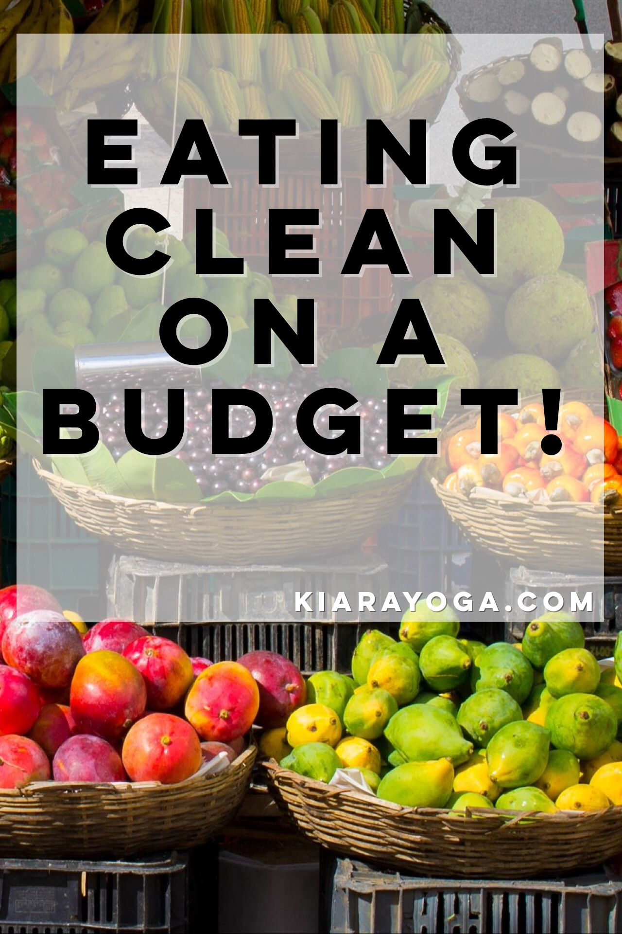 Overindulging is basically how you can define the holidays. So don't forget to balance it with clean meals in between all of that holiday deliciousness! Don't break the bank though trying to eat clean when you've got holiday shopping on your mind!