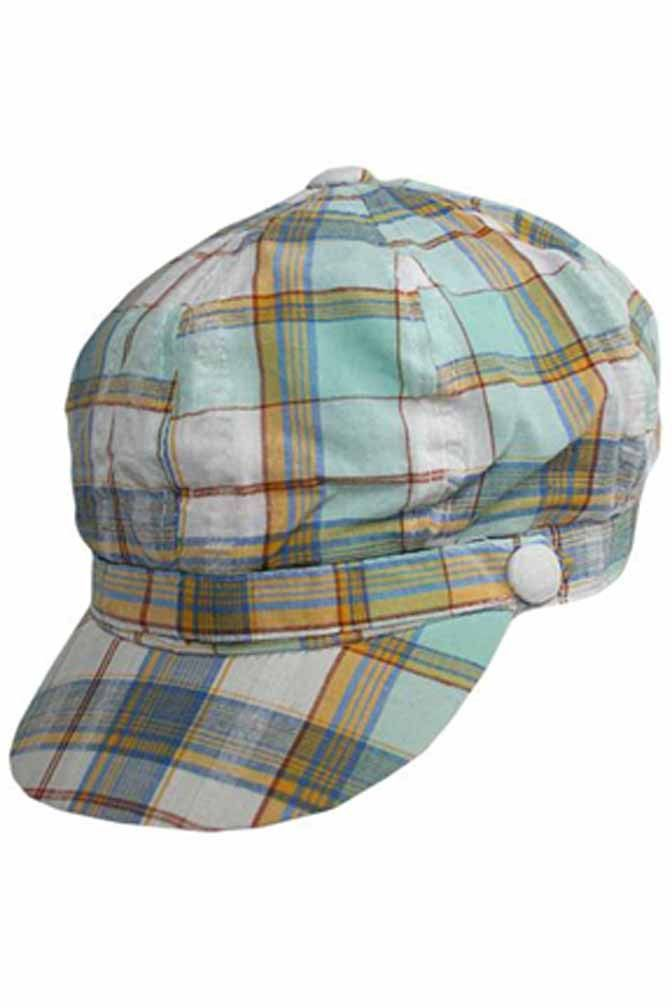 87f65de2564ac Green Plaid Newsboy Hat. Find this Pin and more on Newsboys by Luxury Divas.