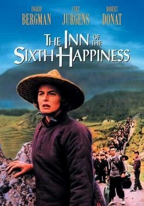 The Inn of the Sixth Happiness (1958) Ingrid Bergman stars as Gladys Aylward, a real-life missionary who goes to China during the Sino-Japanese War. As the hostile Chinese begin to trust her, she takes on an arduous task: guiding 100 children through enemy territory and into safety.