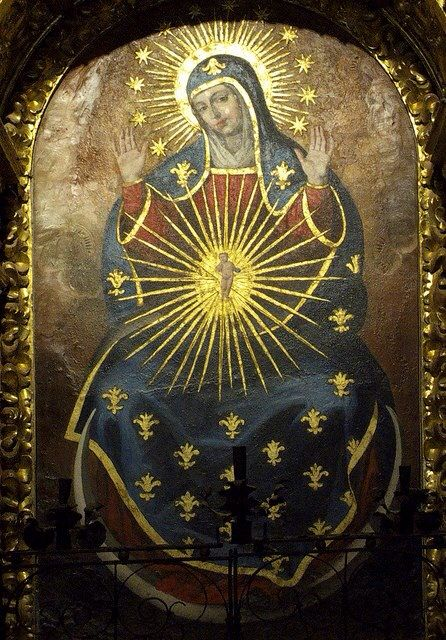 """Virgin Mary of """"The Sign"""" 15th Century"""