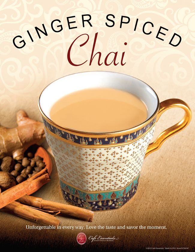 Intoxication spices from the Middle East, this Ginger Spiced Chai is vibrant, exploding with genuine ginger, not ginger flavor. An irresistible taste that will please any ginger connoisseur. #chai   Buy me now http://shop.drsmoothiebrands.com/store/item_view.php?id=118&item=ginger-spiced-chai-(3~1~15-lb~1~1-bag)