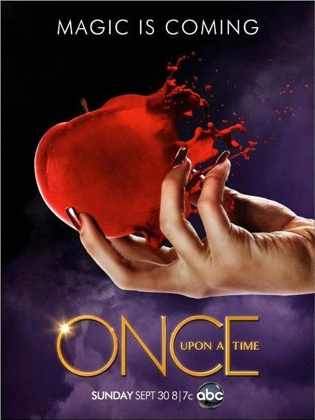 Season 2 Posters For Abc S Once Upon A Time Magic Is Coming Once Upon A Time Abc Tv Shows Evil Queen
