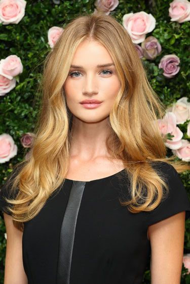 Hair Color Trends Fall 2012 - Lightening Up: Rosie Huntington-Whiteley