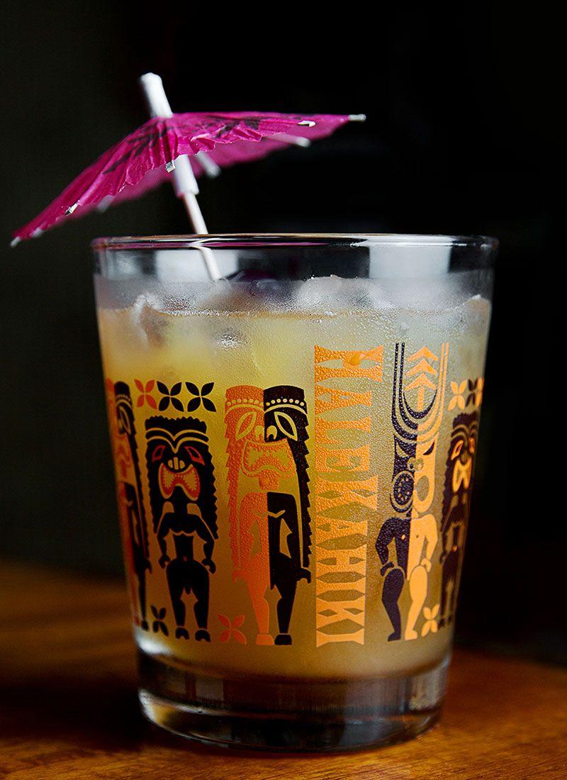 Mai tai tiki cocktail dress