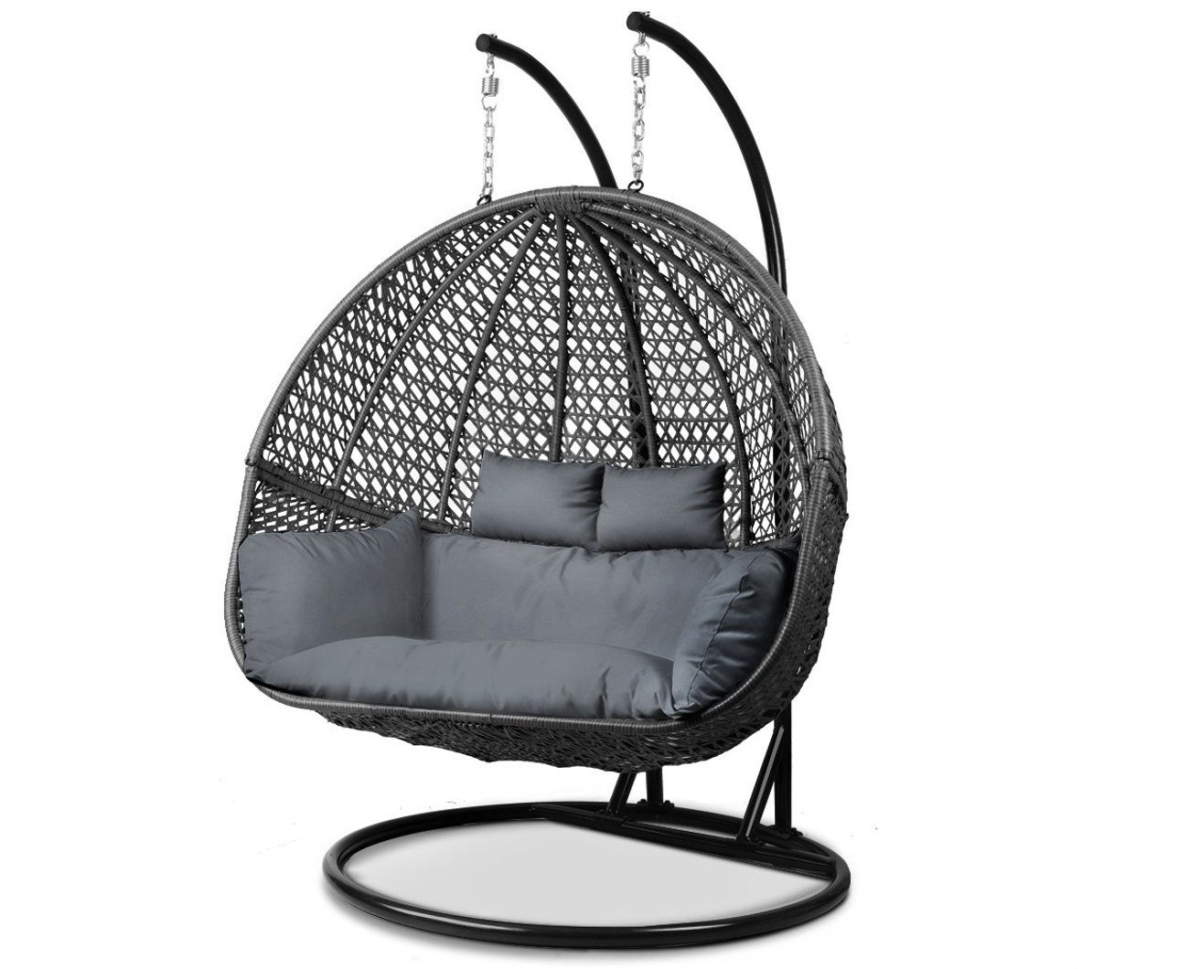 Gardeon stylish outdoor furniture wicker hanging swing egg