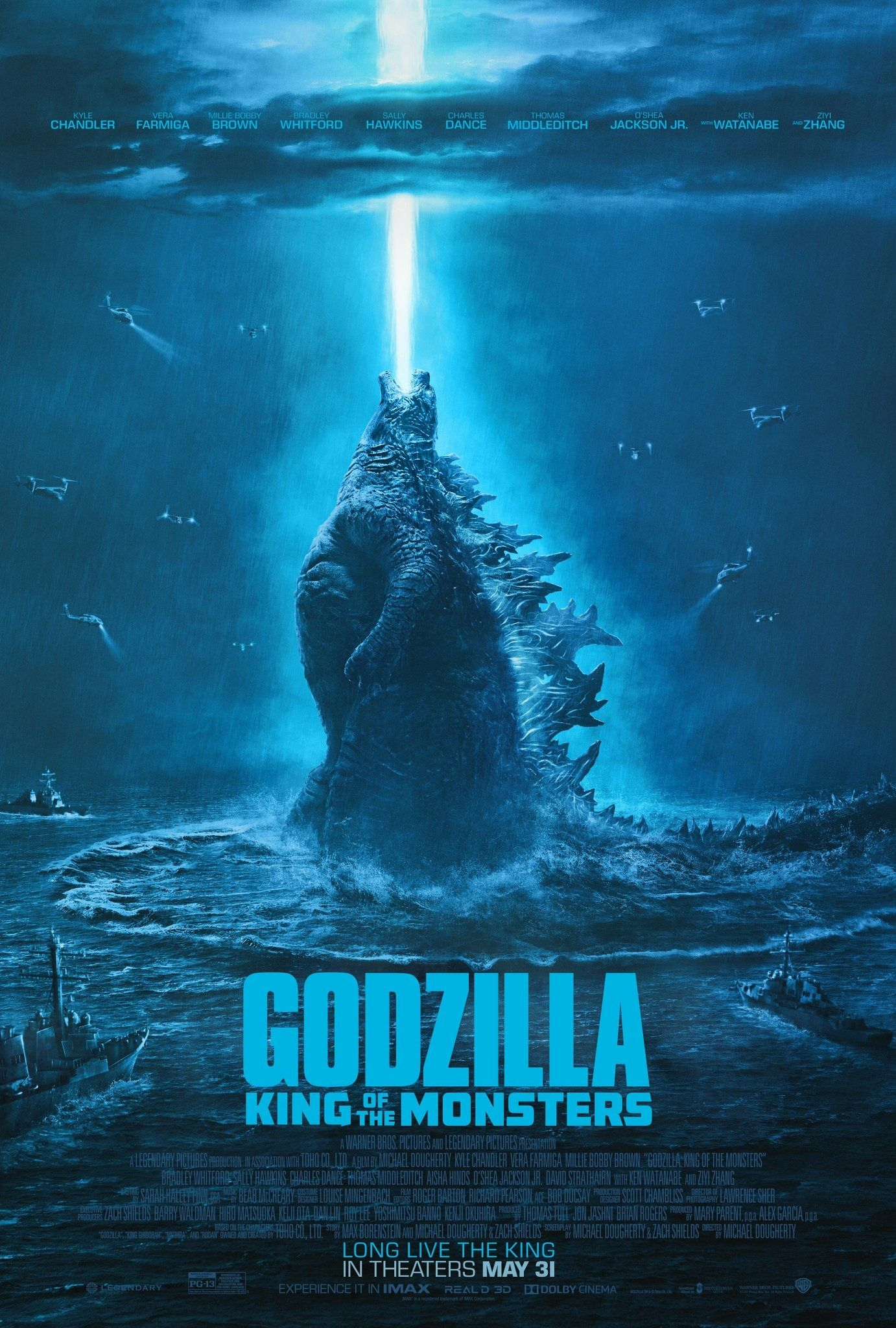 Godzilla King Of The Monsters Sommer Film Godzilla Avengers Hintergrundbild