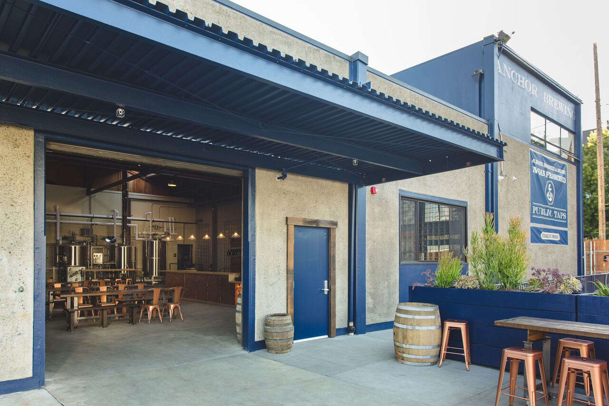 Anchor Drops New Taproom and Pilot Brewery