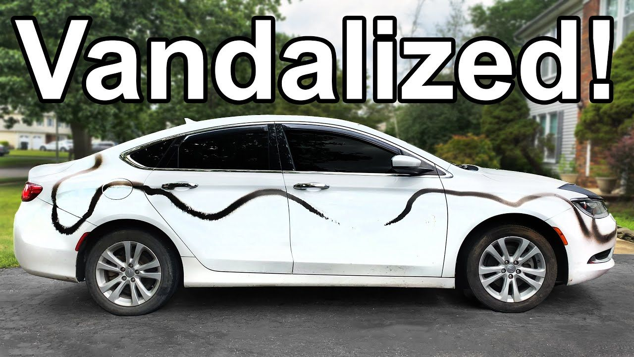 How To Remove Spray Paint From A Vandalized Car In 2020 Car Soap Car Painting Car