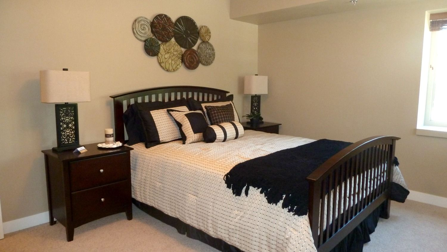 In love with this bedroom staged by Maximum Impact Plus