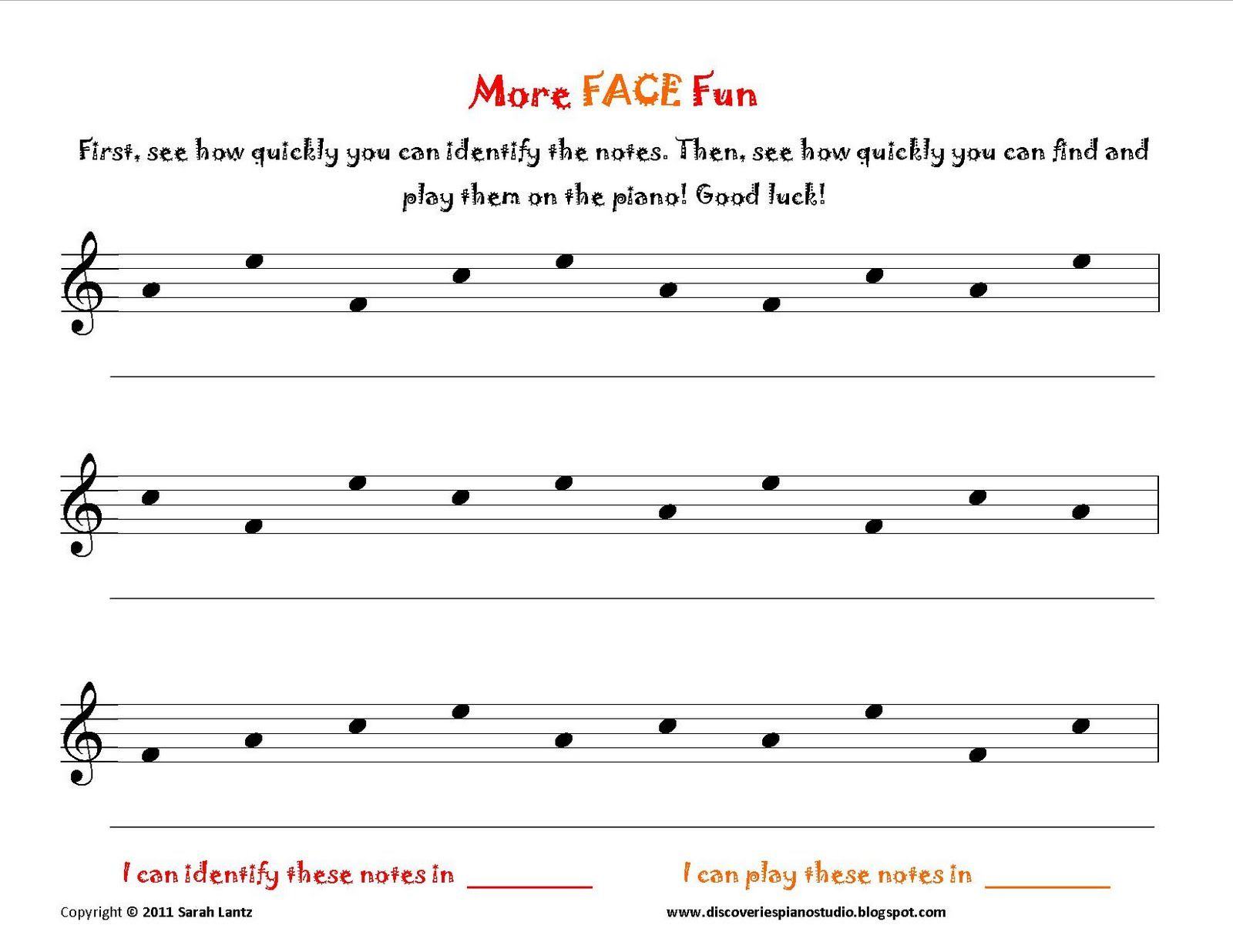 Face Worksheets Piano Lessons Learn Piano Teaching Music [ 1236 x 1600 Pixel ]