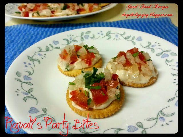 Ravali's easy and tasty party bites