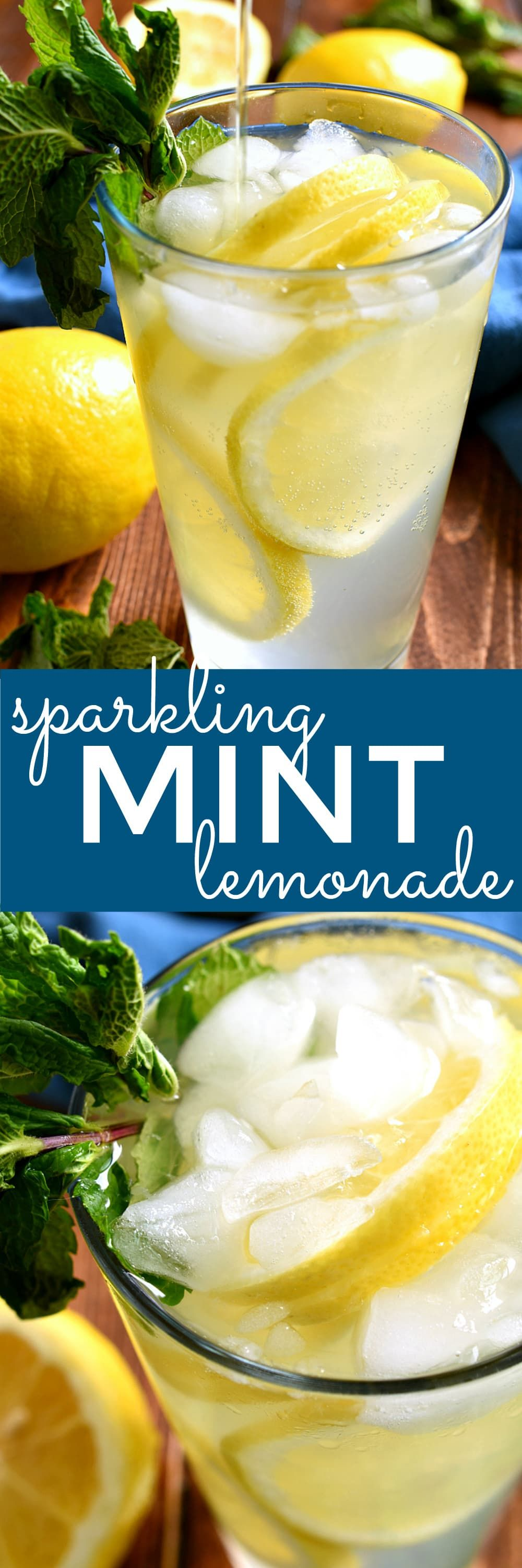 Sparkling Mint Lemonade – Lemon Tree Dwelling