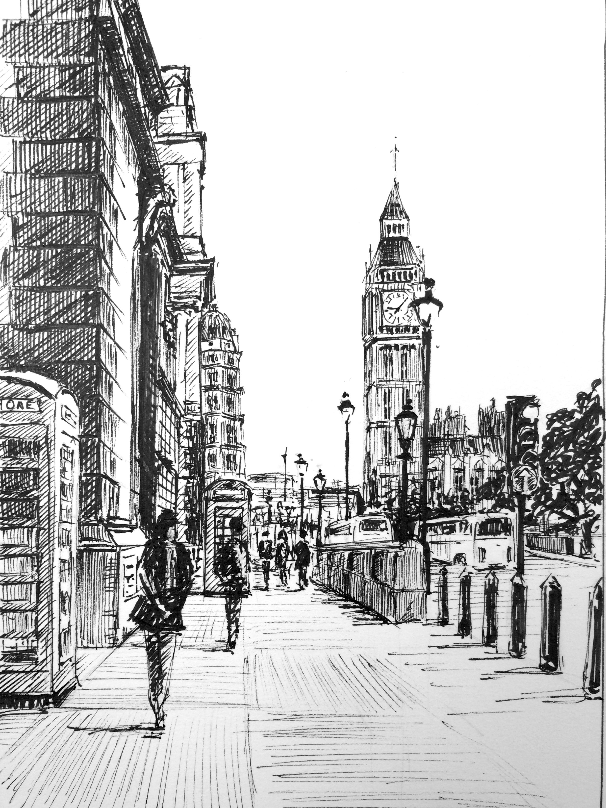 Architecture Drawing Class in this pen and ink class, phil davies takes you through the step