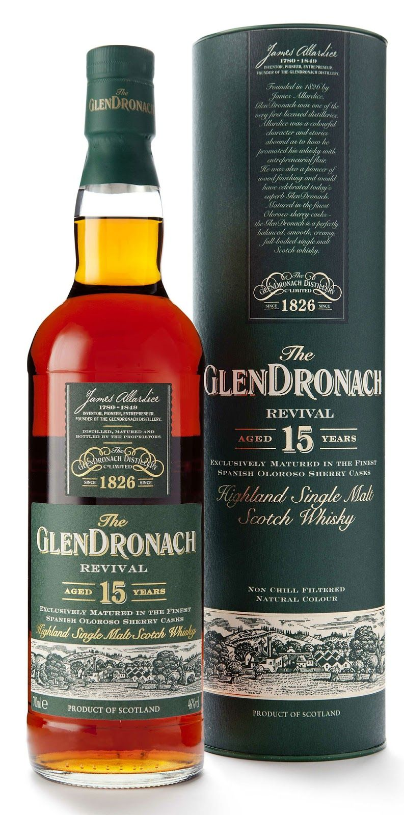 GlenDronach 15 yo (bottled 2015), Revival, 46 % - SUNDAY, DECEMBER 20, 2015 - The Whisky Viking