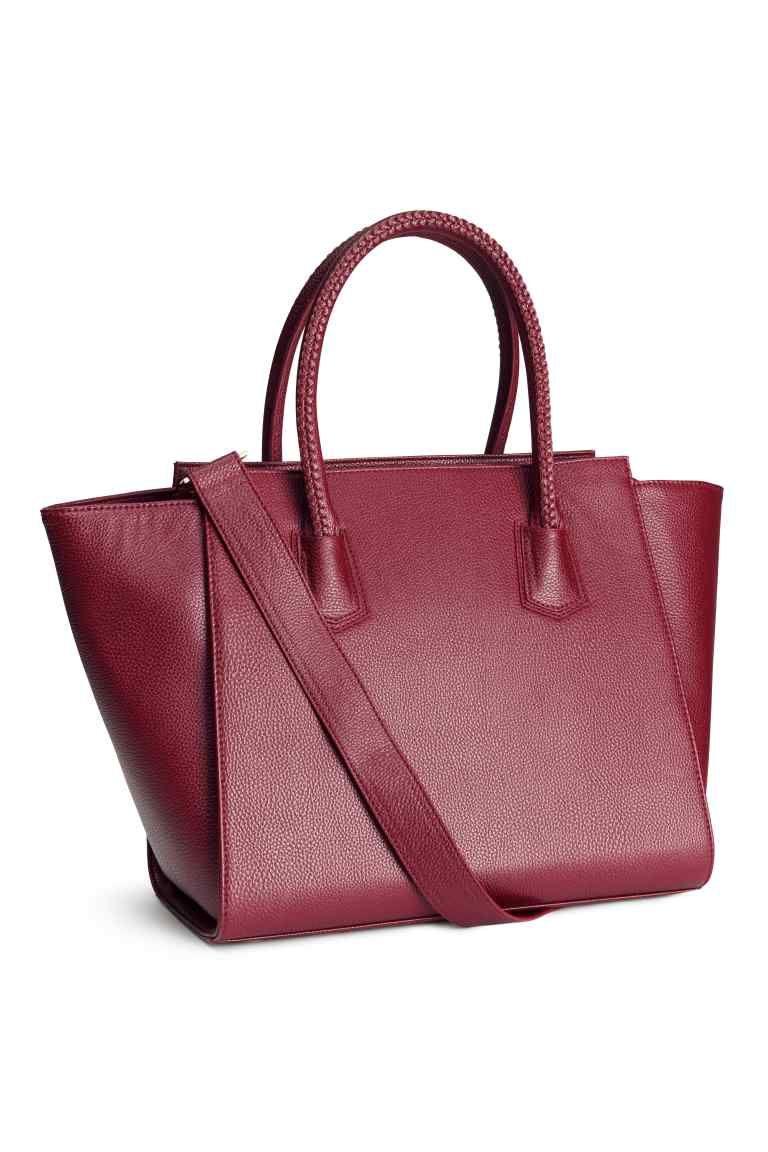 45cf8de920 Une variante de sac à main rigide bordeaux | Wish list.... | Sac à ...