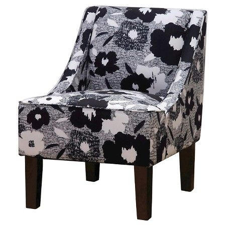 Hudson Swoop Chair - Prints Color Ace Carys Inks