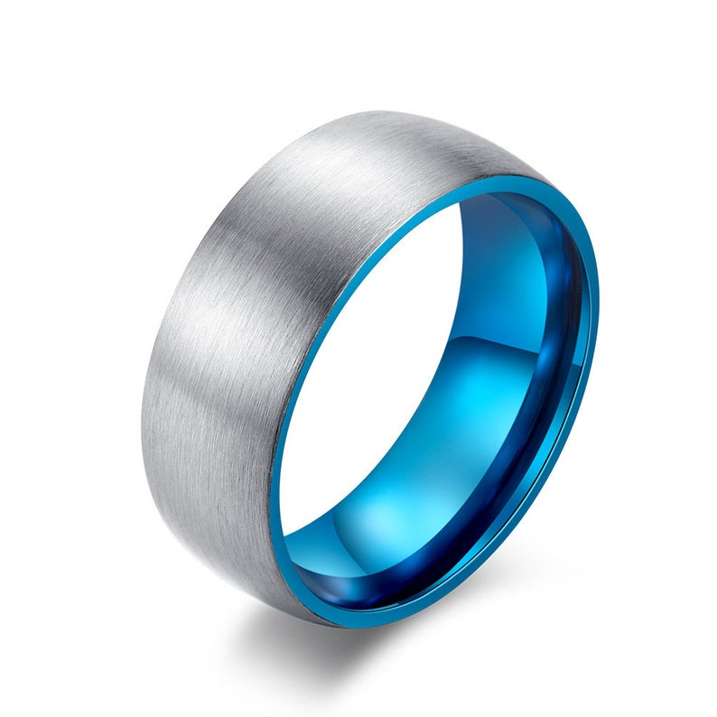 Titanium Men ringPromise Ring for menMen Wedding Band1st