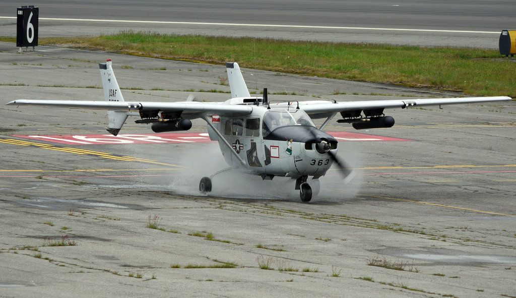 cesna skymaster military | Cessna O-2 vs Puddle by ~shelbs2