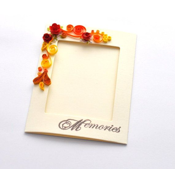 Paper Quilling Card Quilling Photo Frame Paper Frame Quilled Frame ...