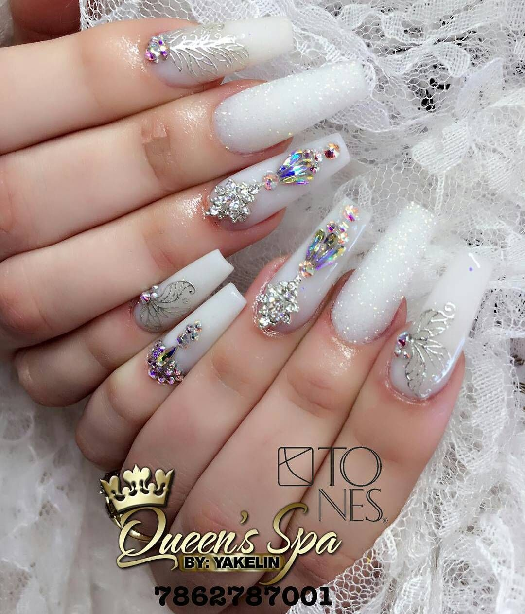 Amazing Nail Art Made Using Tones Products | nails | Pinterest ...